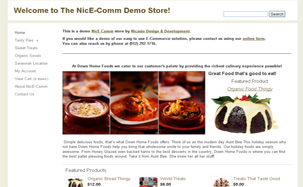 NicE-Comm our very own E-Commerce Solution